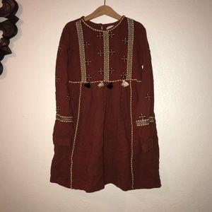 Zara kids embroidered dress